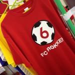 夏だ 夏だ FC六間オリジナルTシャツだ。