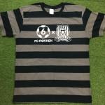 FC六間のボールドボーダーTシャツはいかがですか。